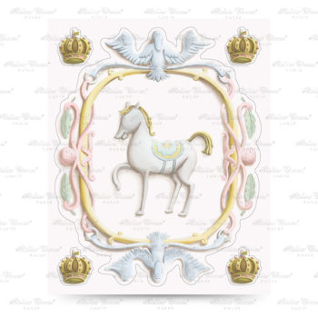 Atelier Choux Wall Sticker Horse #littlefrenchheart