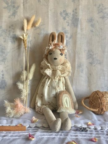 Clover Bunnette French Collectible Doll #Littlefrenchheart