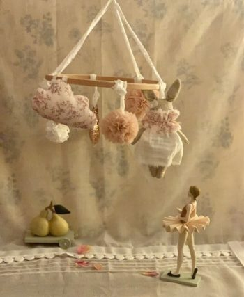 French Bebe Mobile #Littlefrenchheart