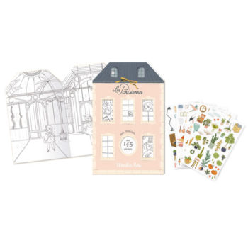 Les-Parisiennes-Sticker-Book #Littlefrenchheart
