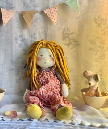 Moulin Roty Les Rosalie Ragdoll Vanille #Littlefrenchheart