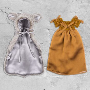 Numero 74 Doll Peu dÁnne Cape and Solome Dress 2 #littlefrenchheart