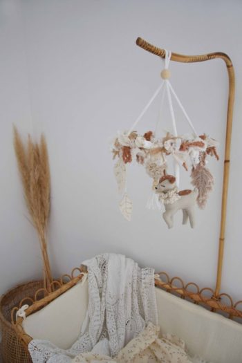 Spring Faune Bebe Mobile #littlefrenchheart