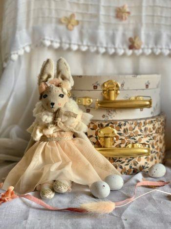 Summer Bunnette in Tulle Mini with Orangerie Set #littlefrenchheart