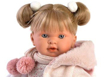 Llorens Crying Baby Doll Tina Cojin