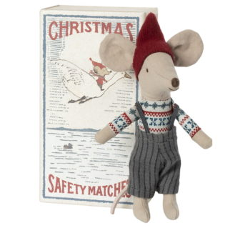 Maileg Christmas Mouse In Box Big Brother (Pre order End Oct)
