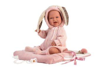 Llorens Crying Baby Doll Mimi Sonrisas Carro