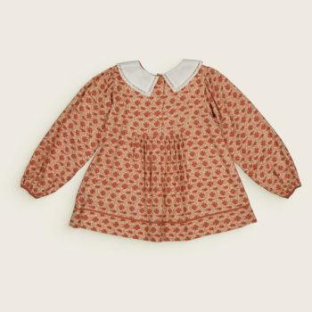 Bachaa-Anemone-Blouse-Dress-Back-#LittleFrenchHeart-
