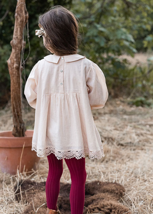 Jonquille-Rose-Powder-Blouse-#Littlefrenchheart