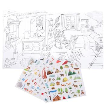Le Jardin Explorer Sticker Book #Littlefrenchheart