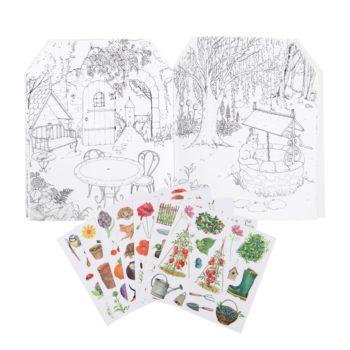 Le Jardin Gardener Sticker Book #Littlefrenchheart contents