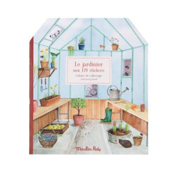 Le Jardin Gardener Sticker Book #Littlefrenchheart