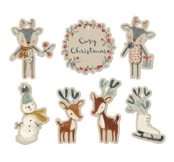 Maileg Cosy Christmas Gift Tags #littlefrenchheart