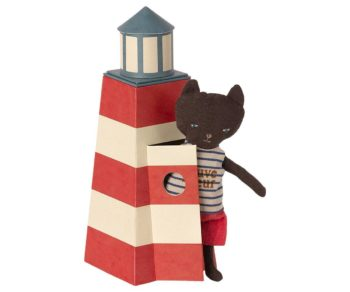 Maileg Lifeguard Tower with Cat Peeking Out #Littlefrenchheart