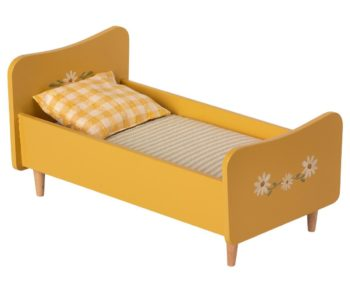 Maileg Wooden Bed Mini Yellow #Littlefrenchheart