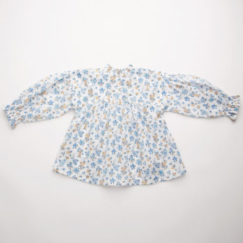 Nellie Quats Kiss Chase Blouse Edith Rose Liberty Print #Littlefrenchheart