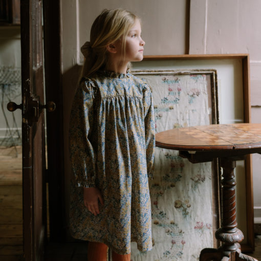 Nellie Quats Marbles Dress Aubrey Forest Liberty Print #littlefrenchheart