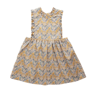 Nellie Quats Marlow Pinafore Aubrey Forest Liberty Print #littlefrenchheart