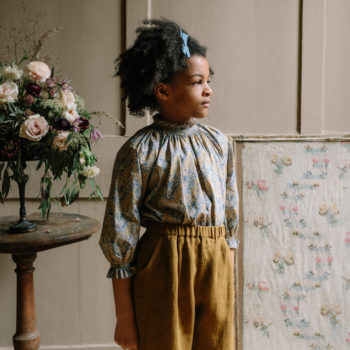Nellie Quats Mother may Blouse Aubrey Forest Liberty #littlefrenchheart 1