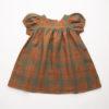 Nellie Quats Redwood Tartan Linen #littlefrenchheart