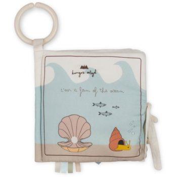 Kongessloejd Baby Fabric Book Ocean Organic