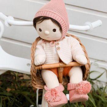 Olli Ella Dinkum Doll Knit Set Bloom