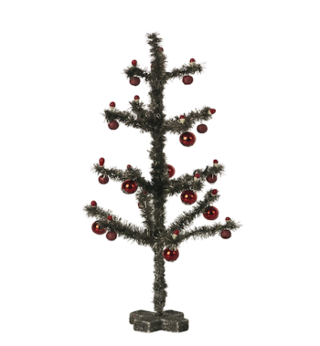 Maileg Christmas Tree Antique Silver (Pre-order End Oct)