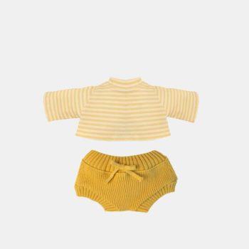 Olli Ella Dinkum Doll Snuggly Set Honey