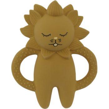 Kongessloejd Teeth Soother Lion Mustard
