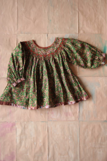 Bonjour Diary Butterfly Blouse Small Flowers #Littlefrenchheart