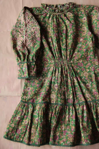 Bonjour Diary Romantic Dress Small Flowers #Littlefrenchheart2