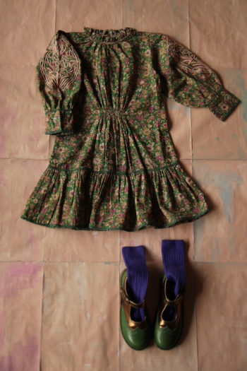 Bonjour Diary Romantic Dress Small Flowers #Littlefrenchheart3