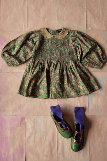 Bonjour Diary Tunique Blouse Small Flowers #Littlefrenchheart