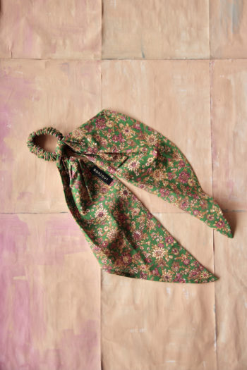 Bonjour Diary Hair Scarf Elastic Small Flowers #Littlefrenchheart