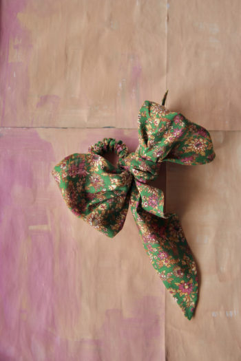 Bonjour Diary Hair Scarf Elastic Small Flowers #Littlefrenchheart1