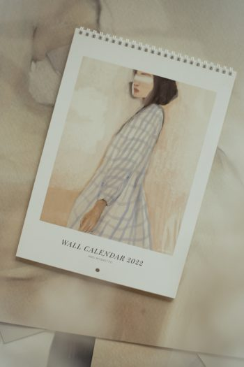 Mrs Mighetto Wall Calendar 2022 #Littlefrenchheart