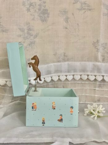 Music Box Cube Horse #Littlefrenchheart