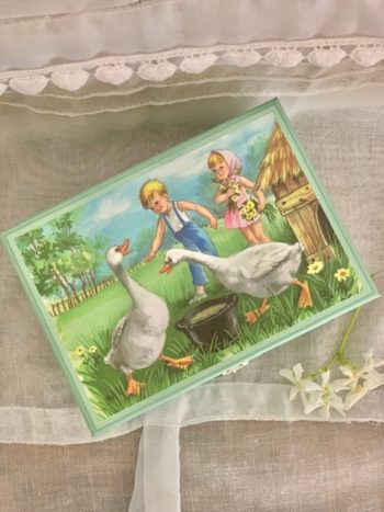 Music Box Geese #Littlefrenchheart