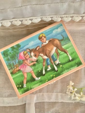 Music Box Young Cow #Littlefrenchheart
