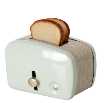 Maileg Miniature Toaster Mint
