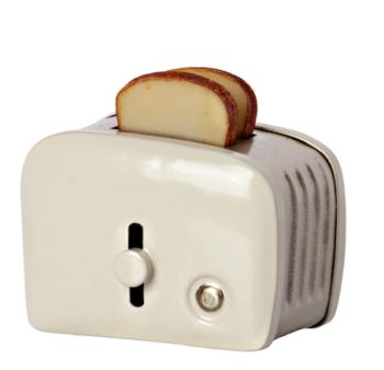 Maileg Miniature Toaster Off White