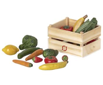 Maileg Veggies & Fruit In Box