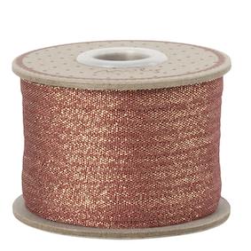 Maileg Ribbon 25m Red-Gold